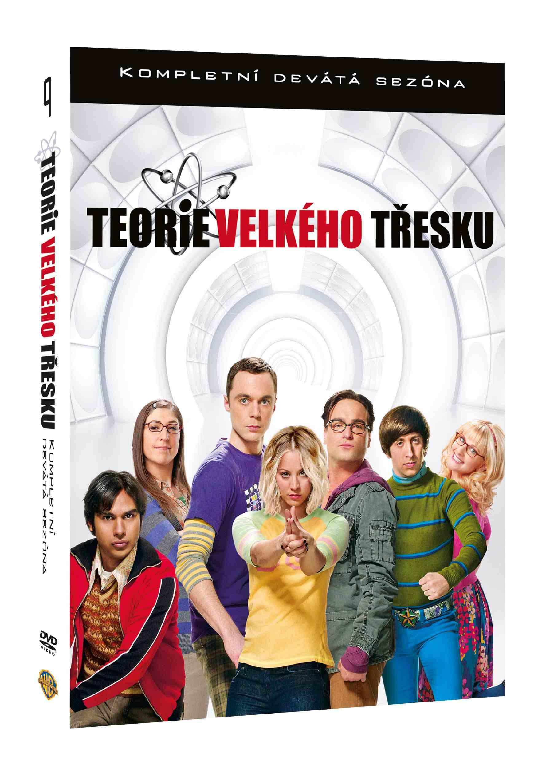 TEORIE VELKÉHO TŘESKU 9. SEZÓNA - 3 DVD