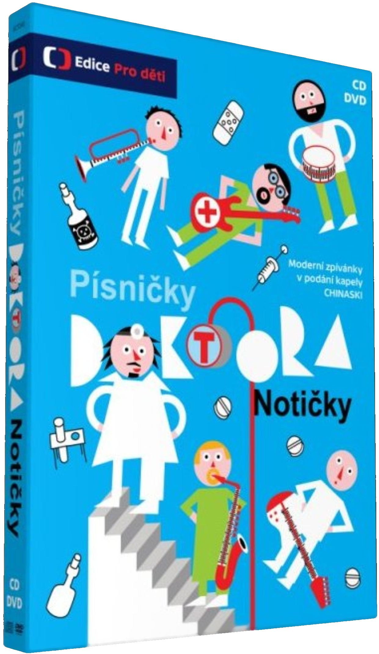 PÍSNIČKY DOKTORA NOTIČKY - DVD + CD