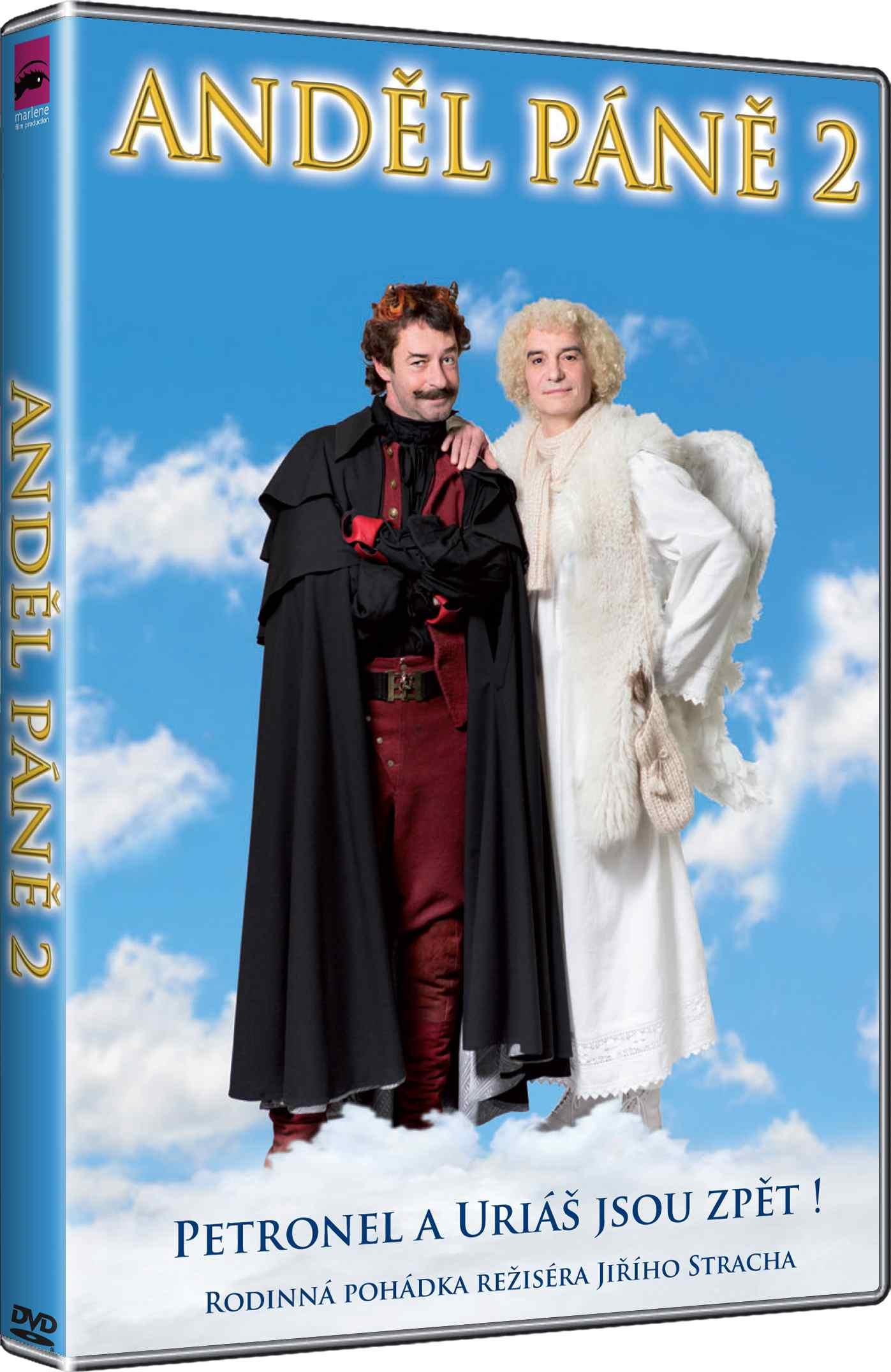 ANDĚL PÁNĚ 2 - DVD