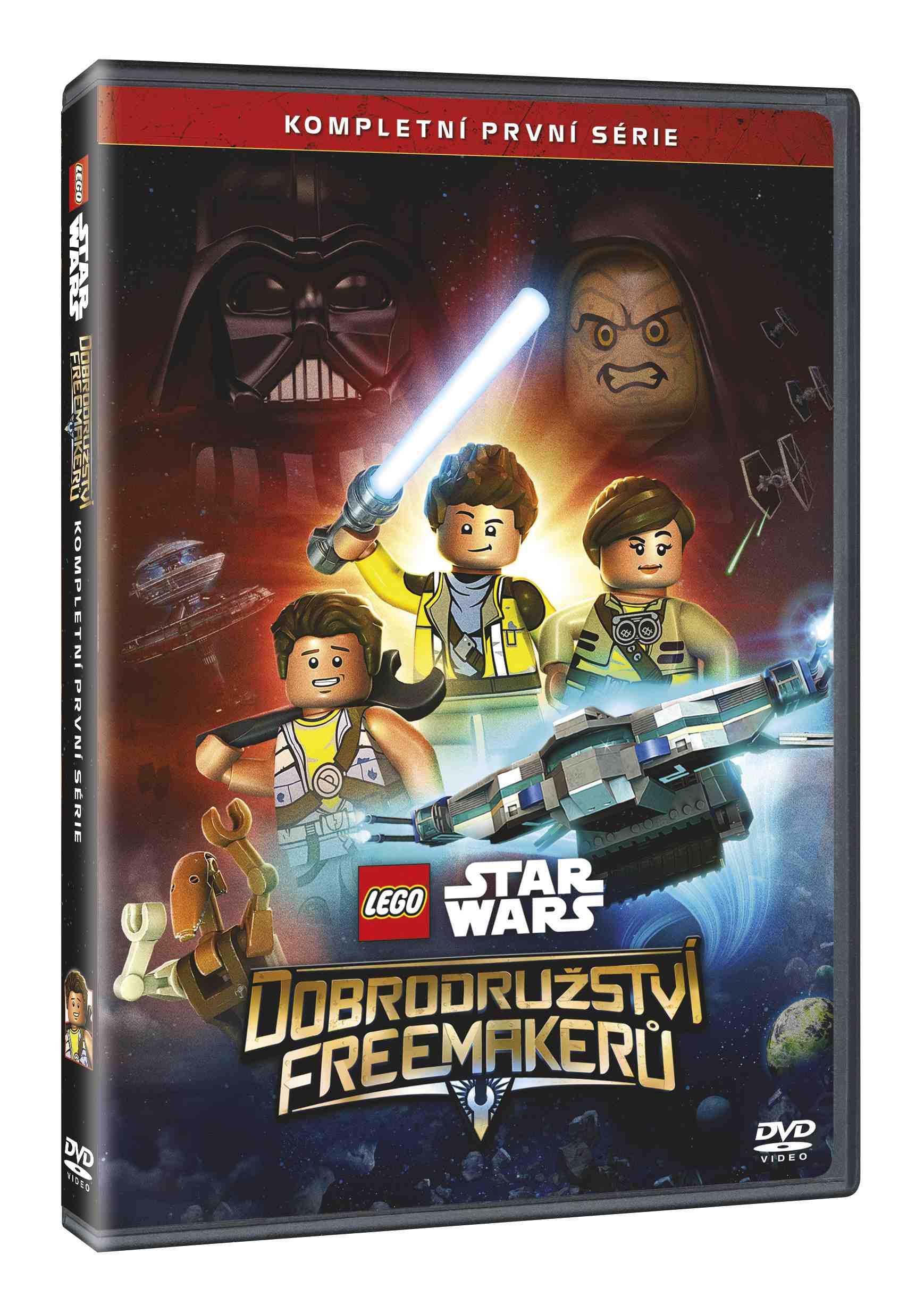 LEGO STAR WARS: DOBRODRUŽSTVÍ FREEMAKERŮ 1. SÉRIE - 2 DVD