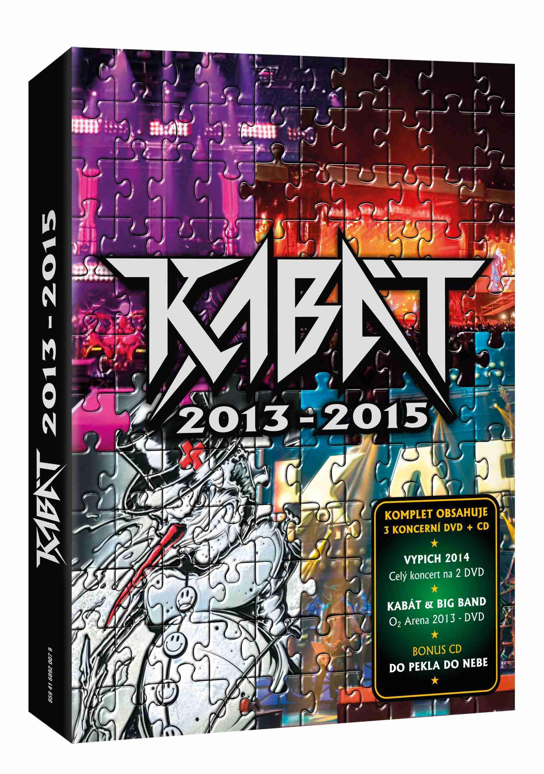 Kabát 2013-2015 - 3 DVD + 1 CD