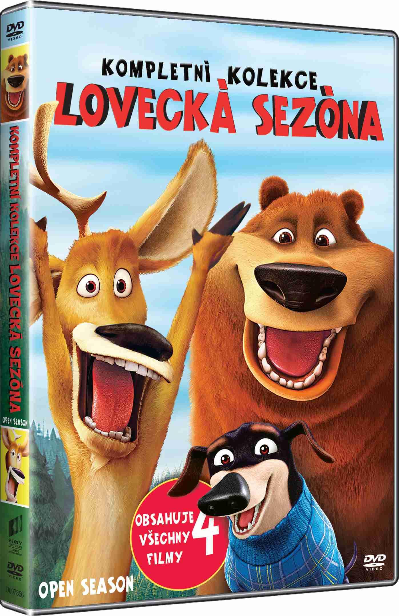 LOVECKÁ SEZÓNA 1-4 KOLEKCE - 4 DVD