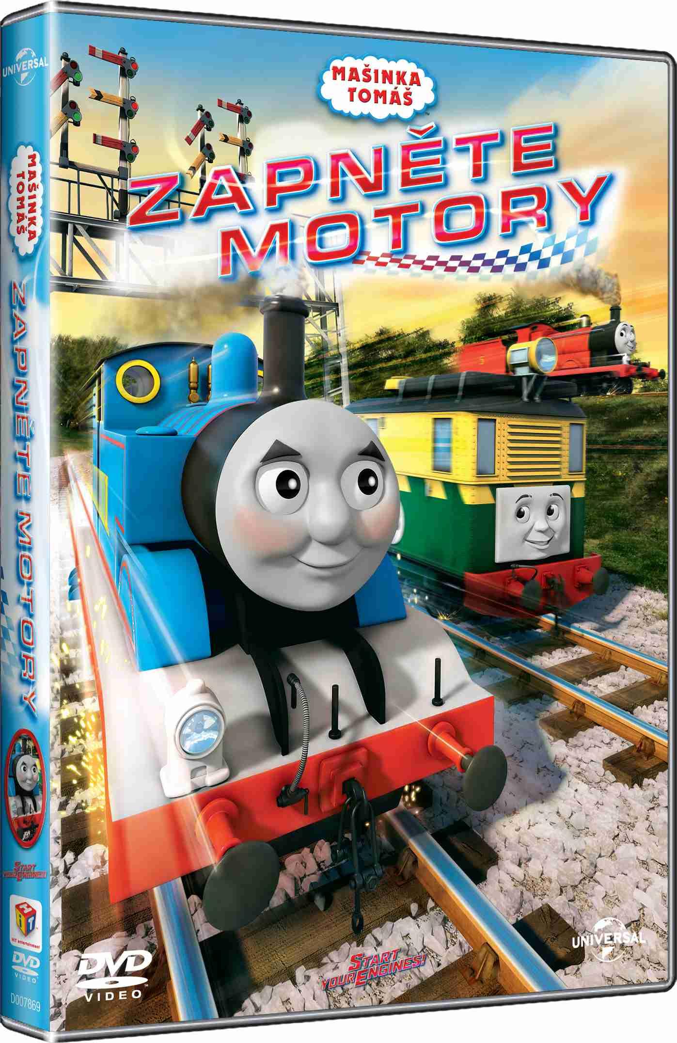MAŠINKA TOMÁŠ: ZAPNĚTE MOTORY - DVD (Lokomotiva Tomáš)