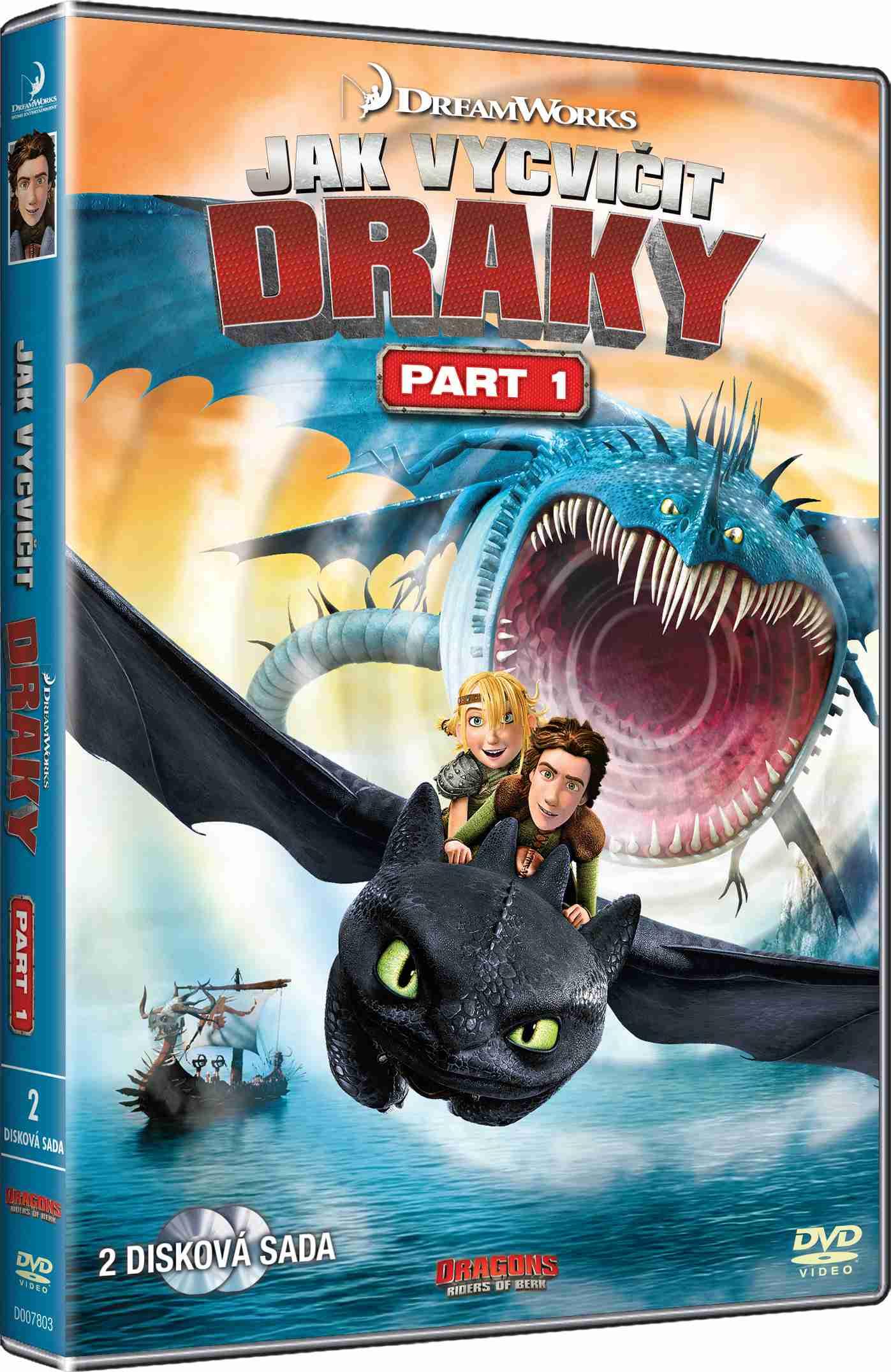 JAK VYCVIČIT DRAKY - 1. SÉRIE - 2 DVD