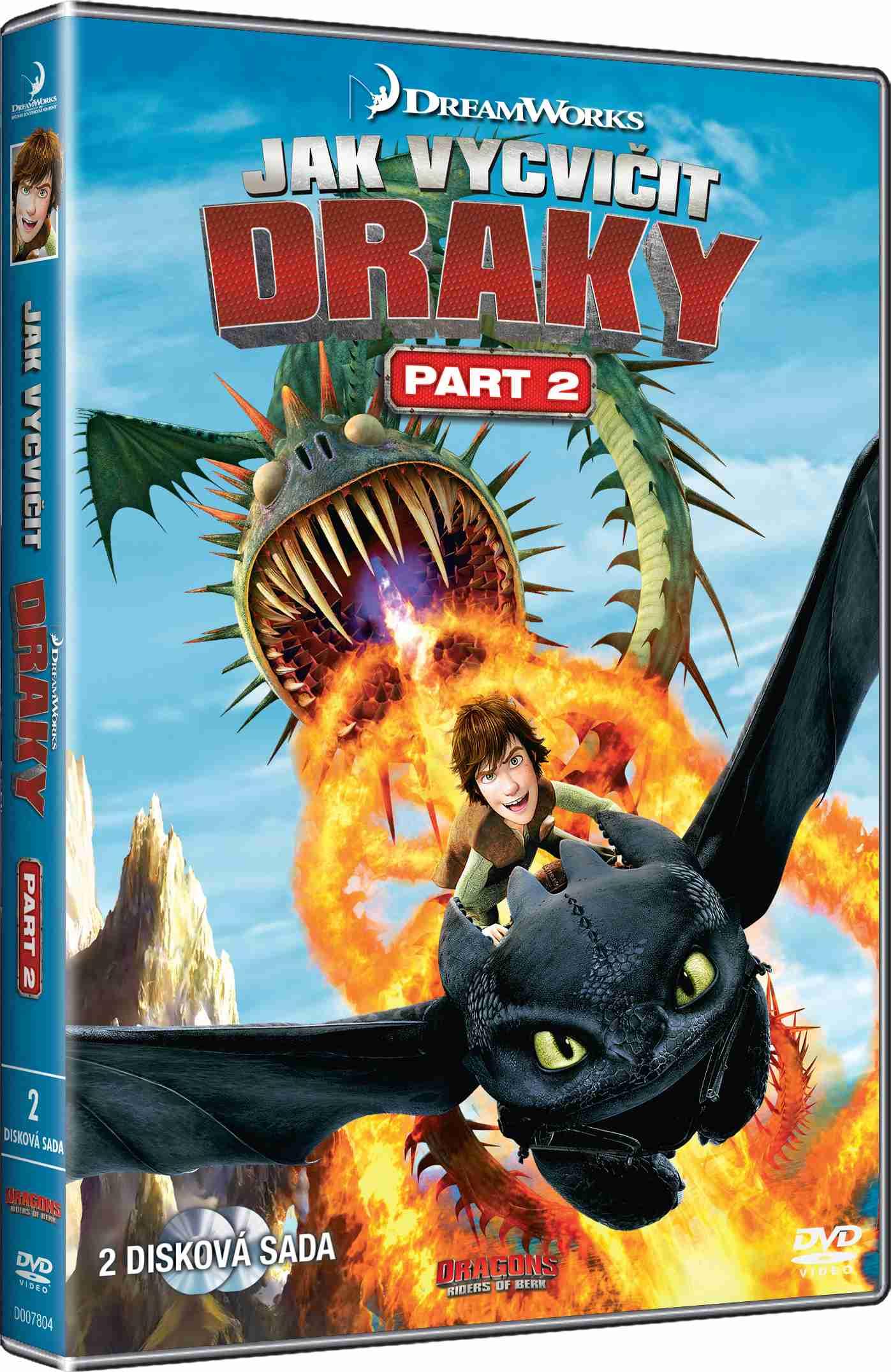 JAK VYCVIČIT DRAKY - 2. SÉRIE - 2 DVD