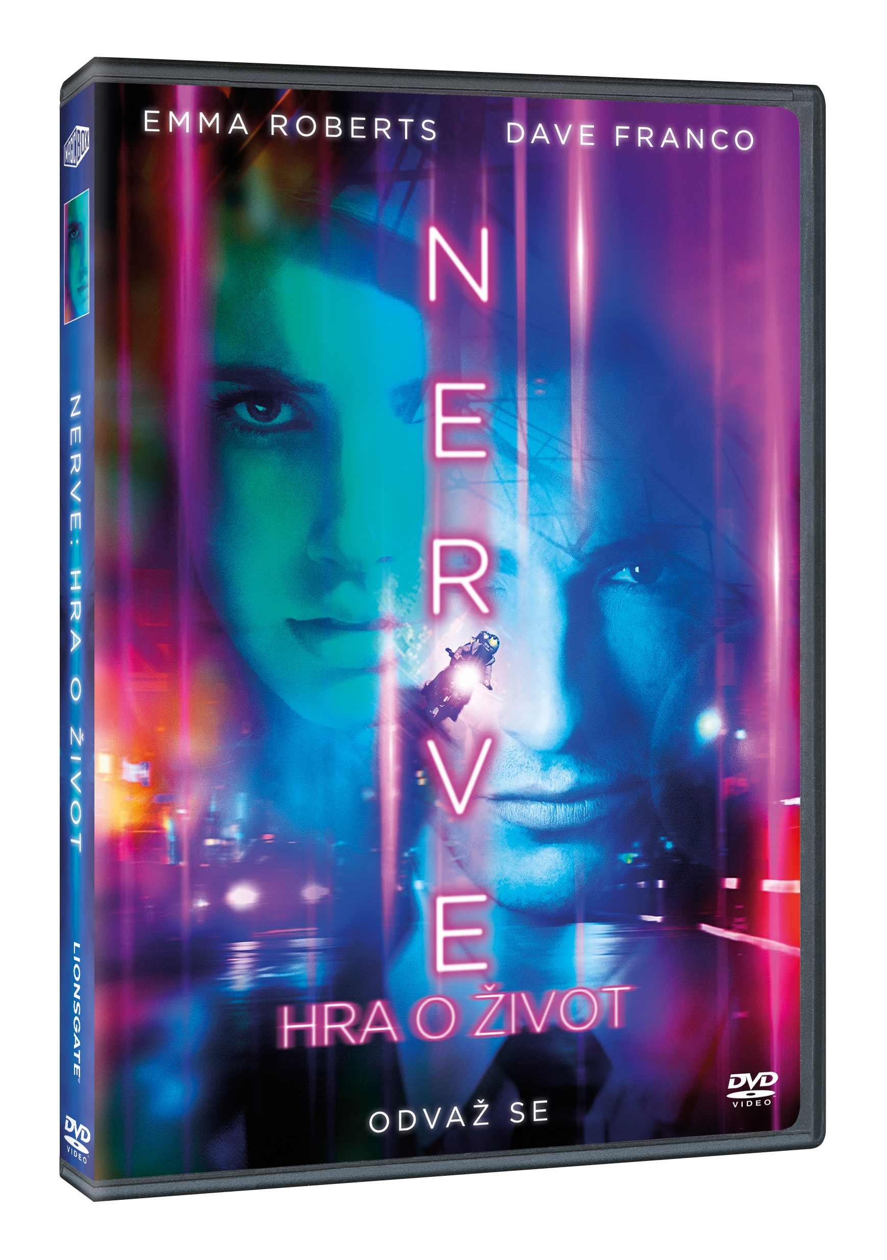 NERVE: HRA O ŽIVOT - DVD
