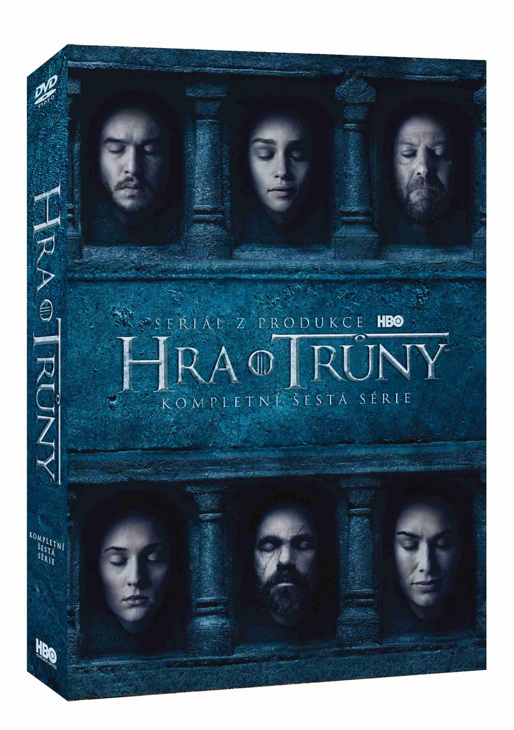 Hra o trůny - 6. série (5 DVD) - DVD