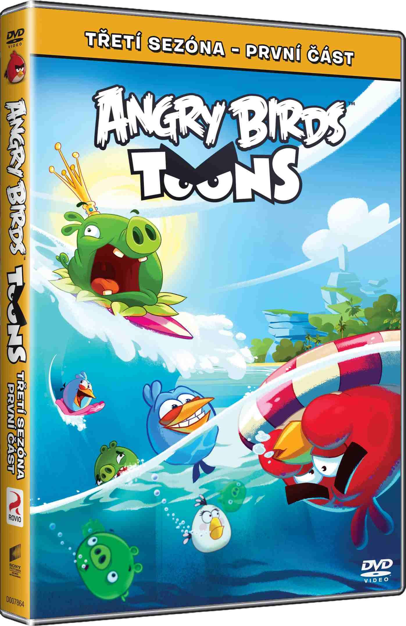 ANGRY BIRDS TOONS - 3. SÉRIE (1. ČÁST) - DVD