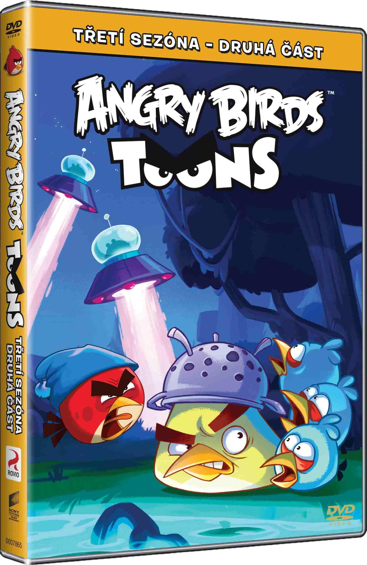 ANGRY BIRDS TOONS - 3. SÉRIE (2. ČÁST) - DVD