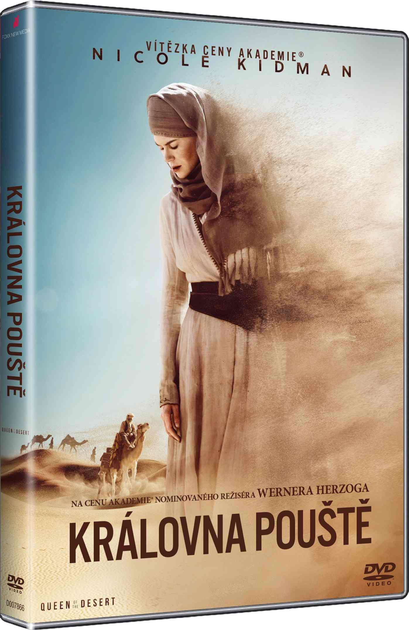 KRÁLOVNA POUŠTĚ - DVD