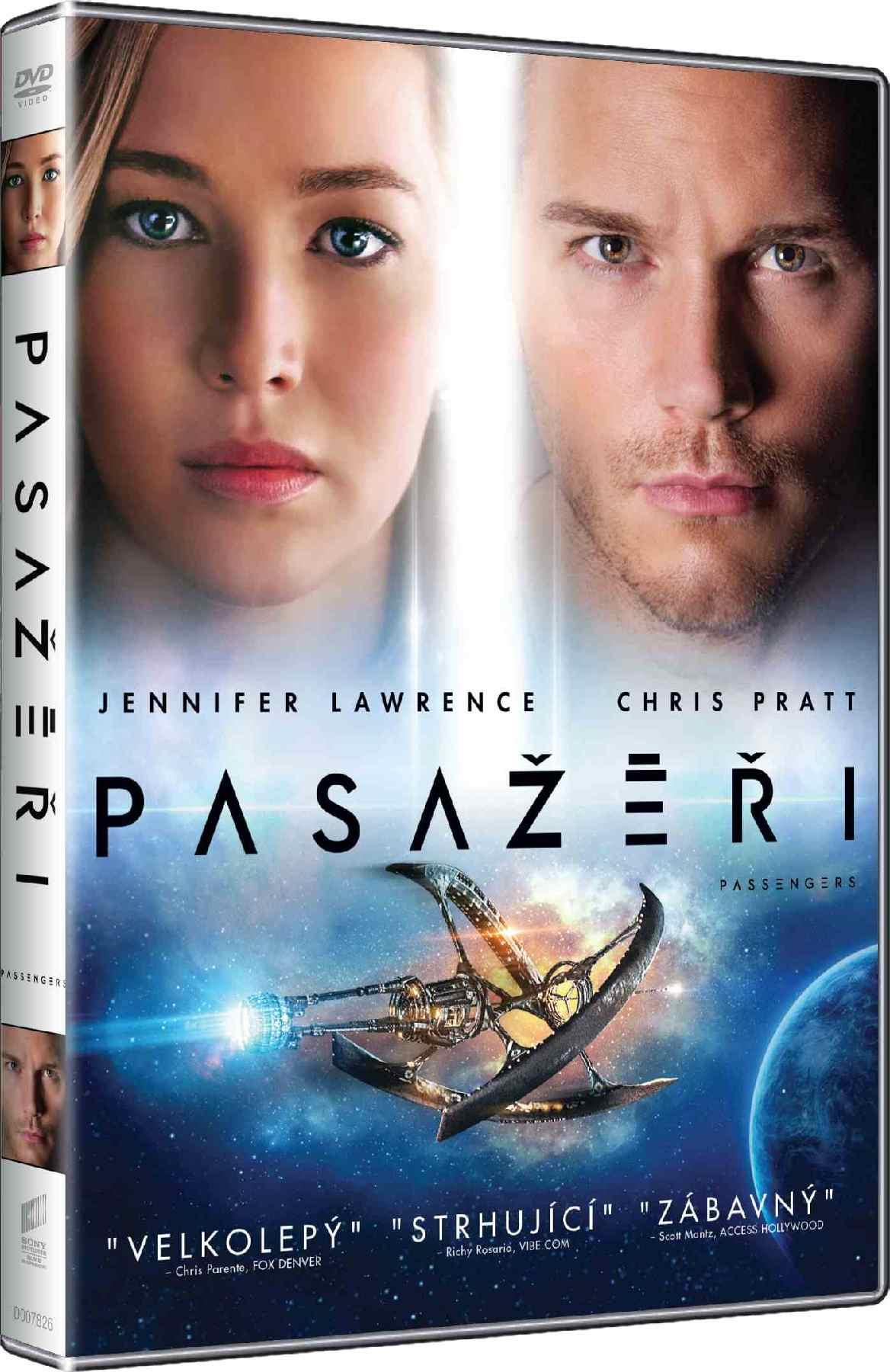 PASAŽÉŘI - DVD