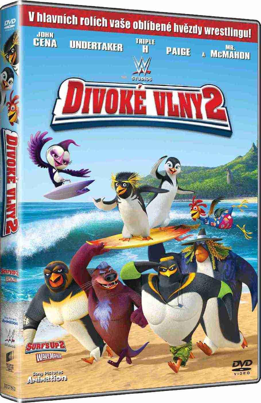 DIVOKÉ VLNY 2 - DVD
