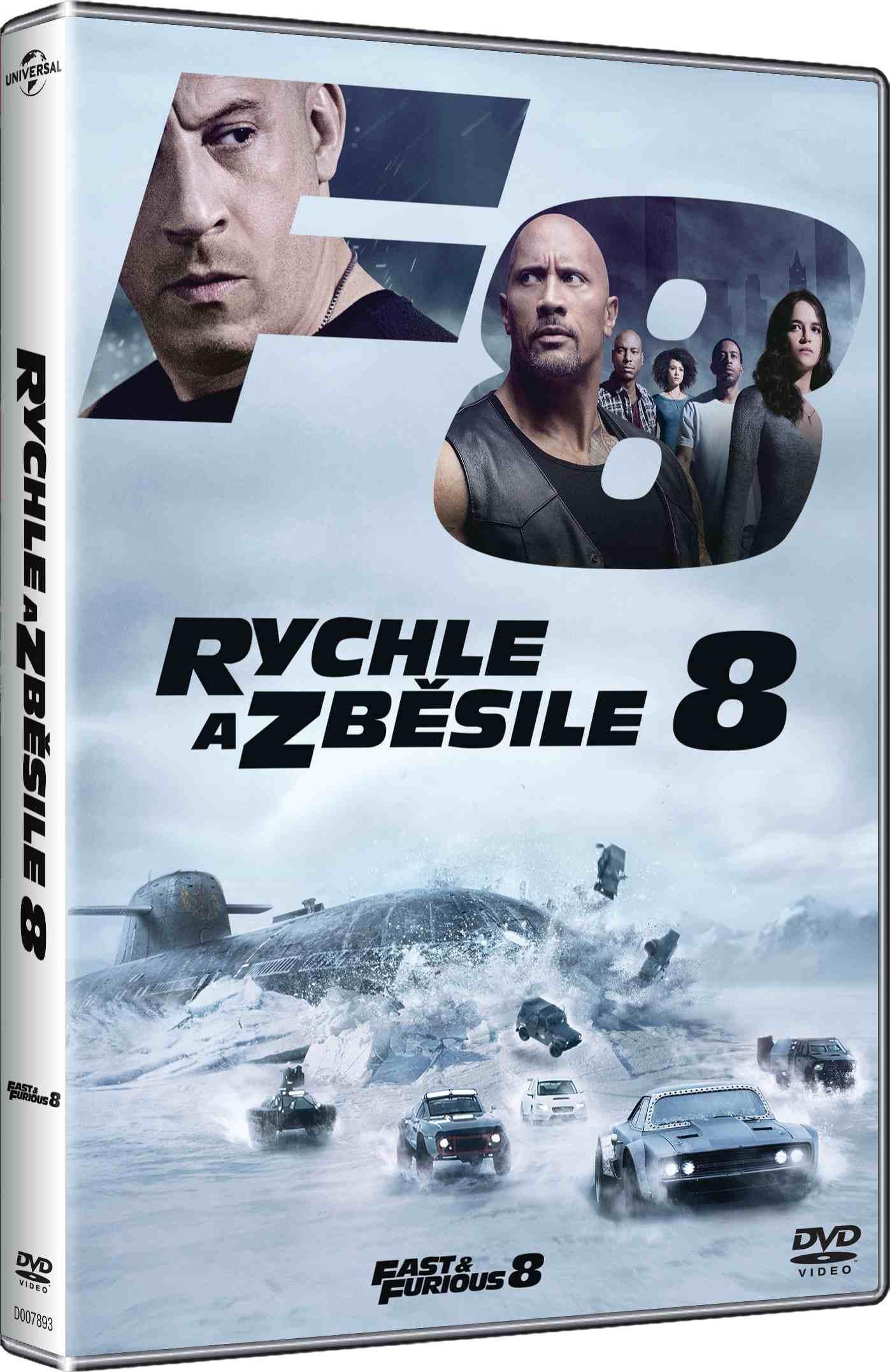 Rychle a zběsile 8 - DVD