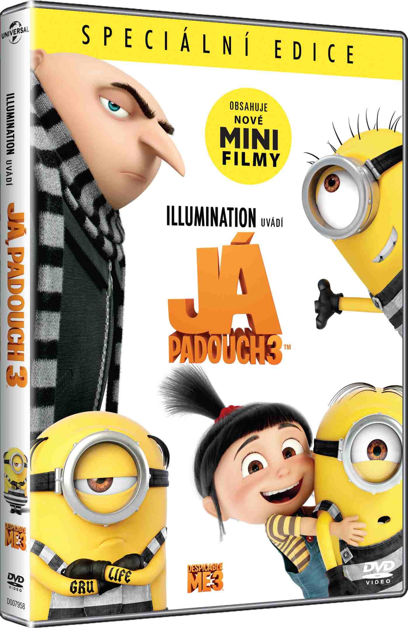 JÁ, PADOUCH 3 - DVD