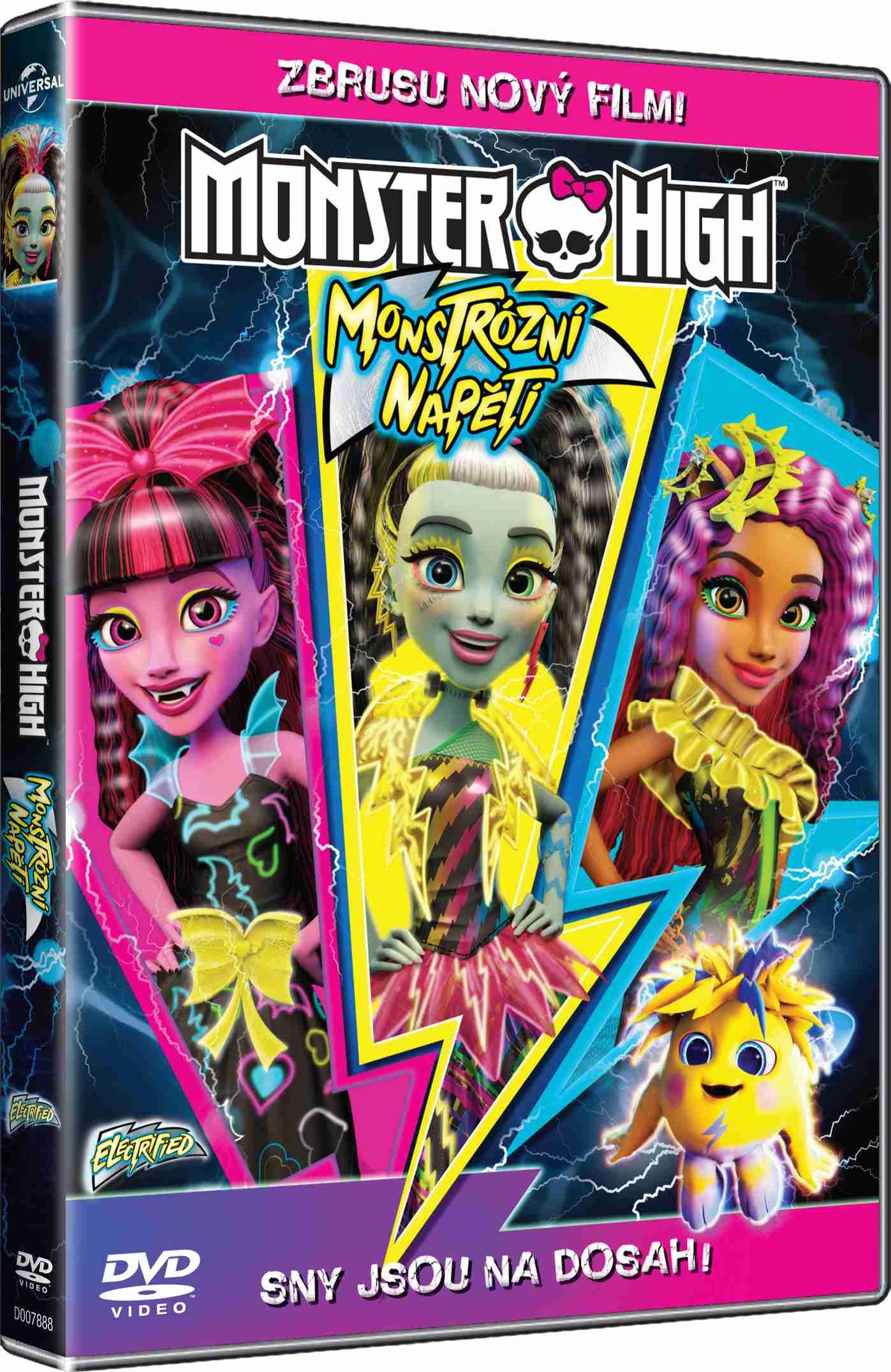 MONSTER HIGH: MONSTRÓZNÍ NAPĚTÍ - DVD