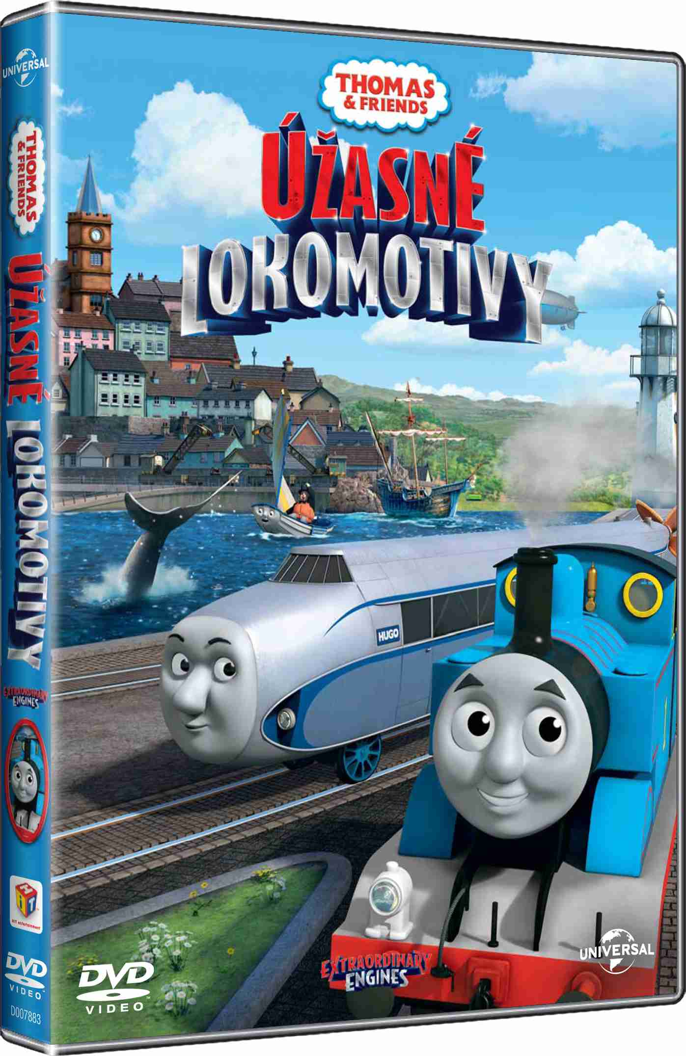 MAŠINKA TOMÁŠ: ÚŽASNÉ LOKOMOTIVY - DVD (Lokomotiva Tomáš)