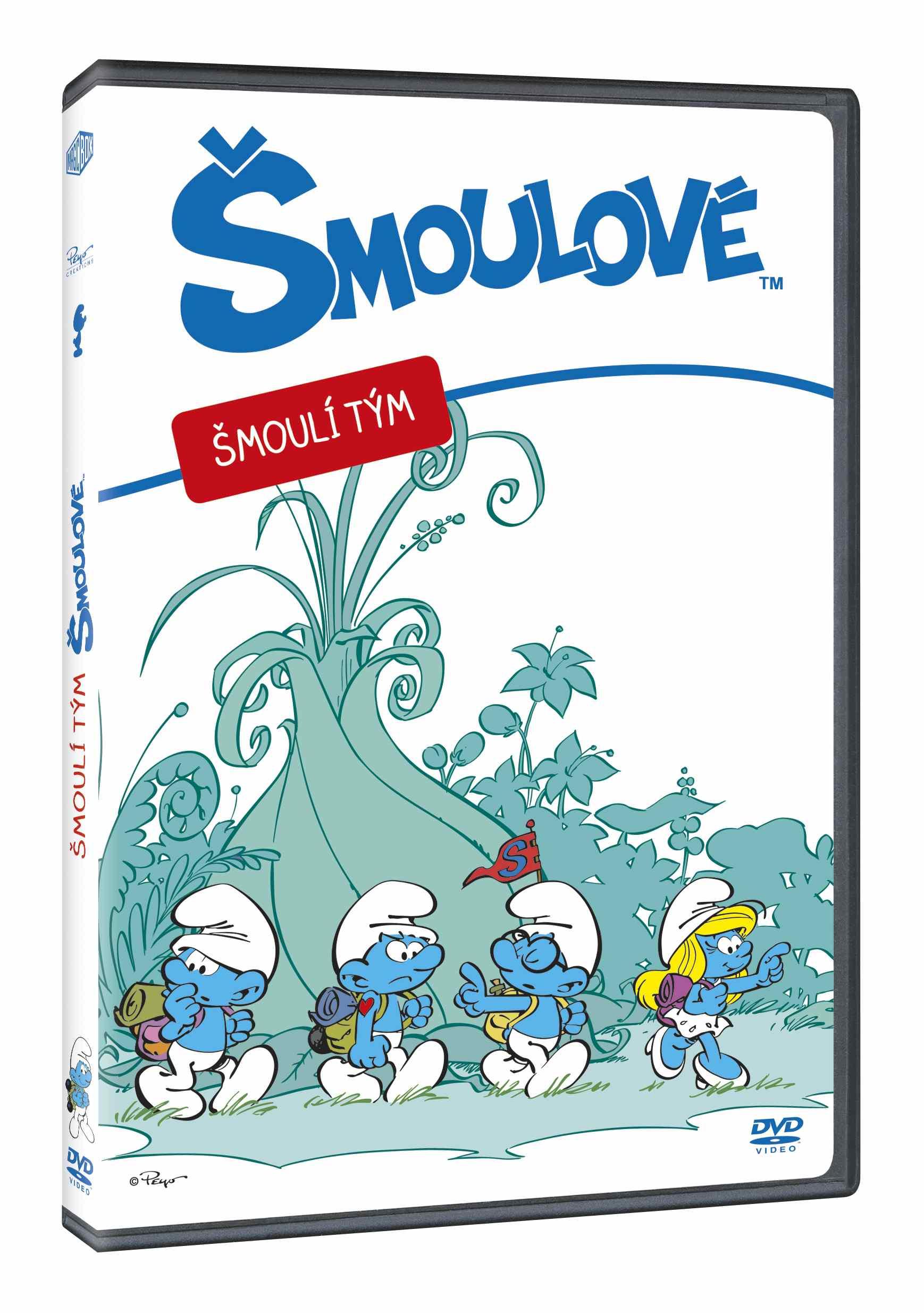 ŠMOULOVÉ: ŠMOULÍ TÝM - DVD