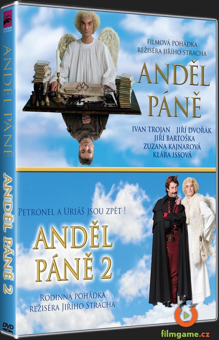 ANDĚL PÁNĚ 1+2 KOLEKCE - 2 DVD