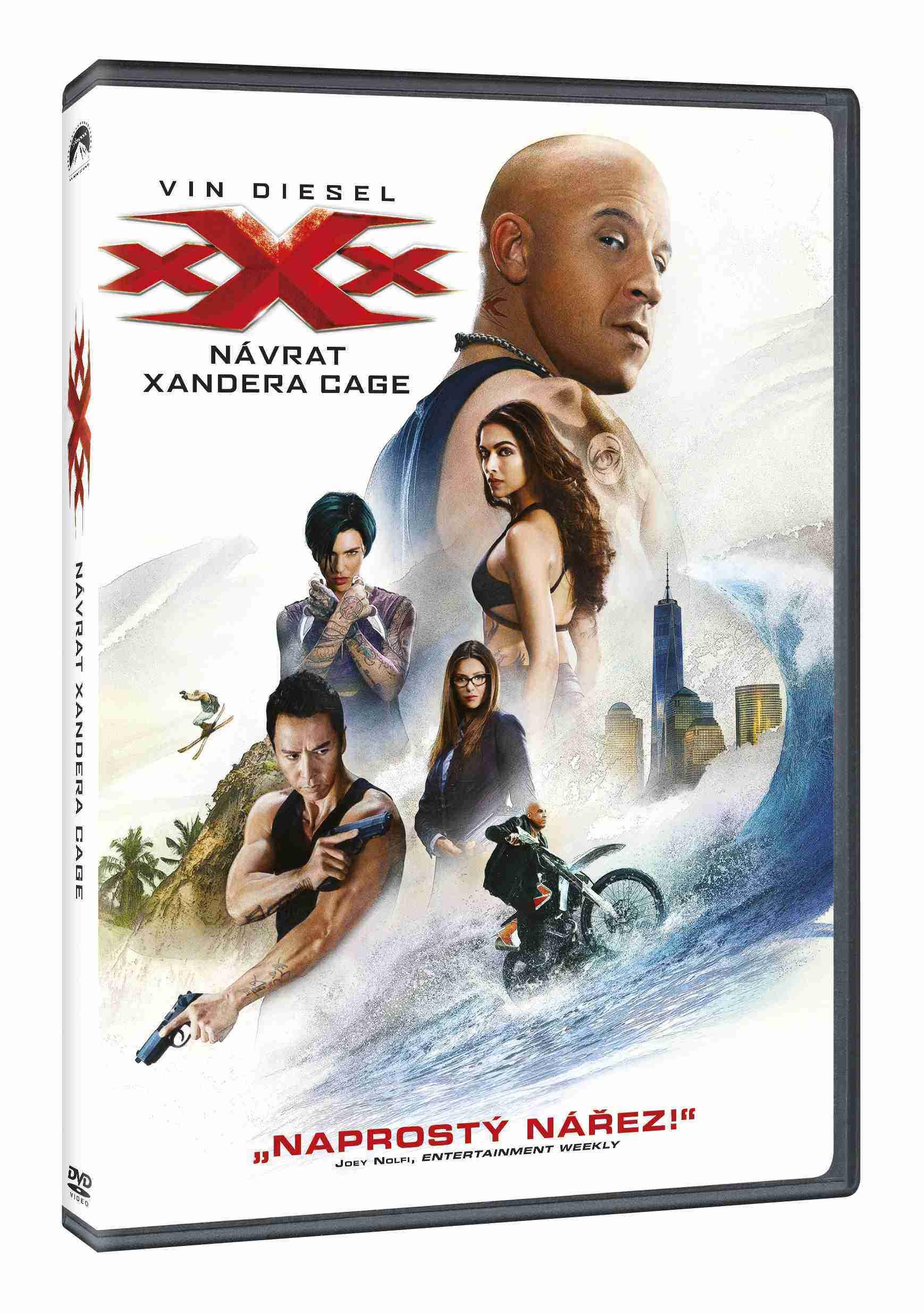 xXx: NÁVRAT XANDERA CAGE - DVD