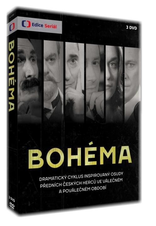 BOHÉMA - 3 DVD