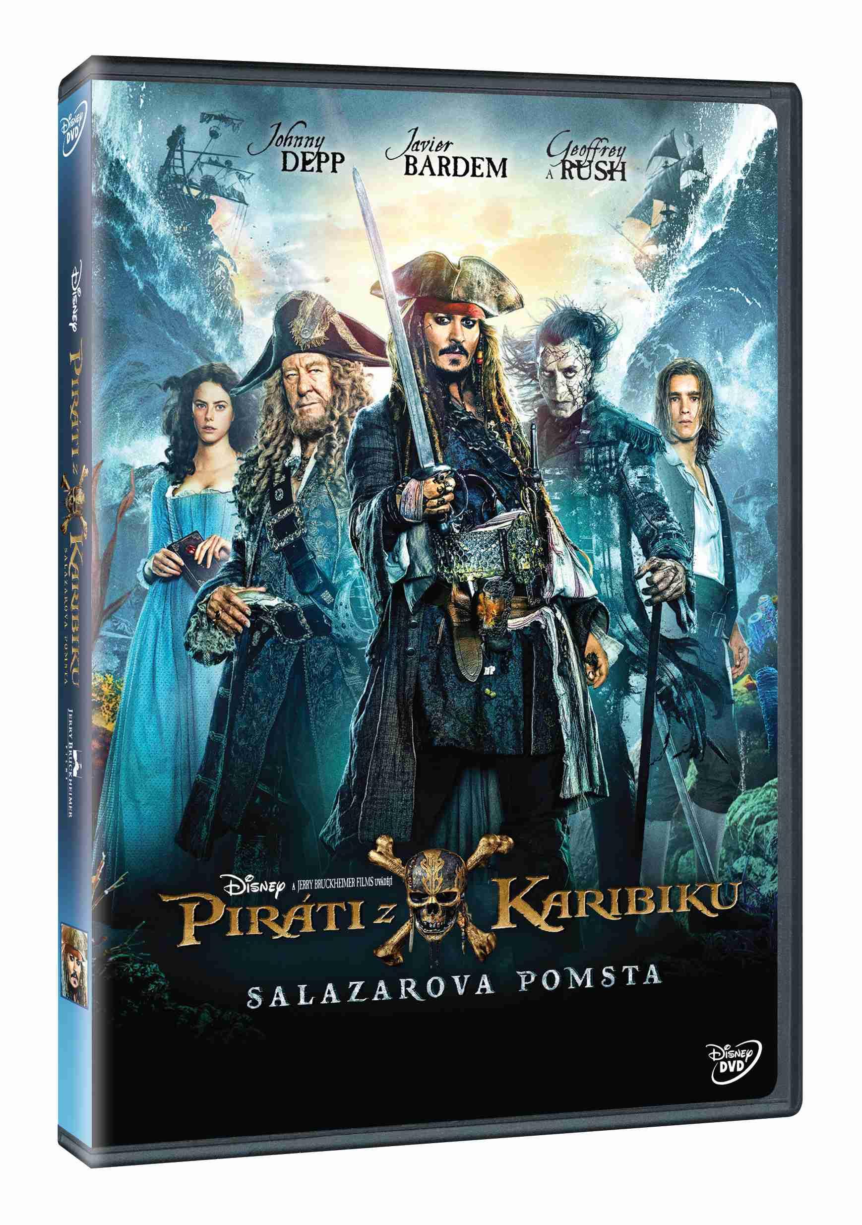 Piráti z Karibiku: Salazarova pomsta - DVD