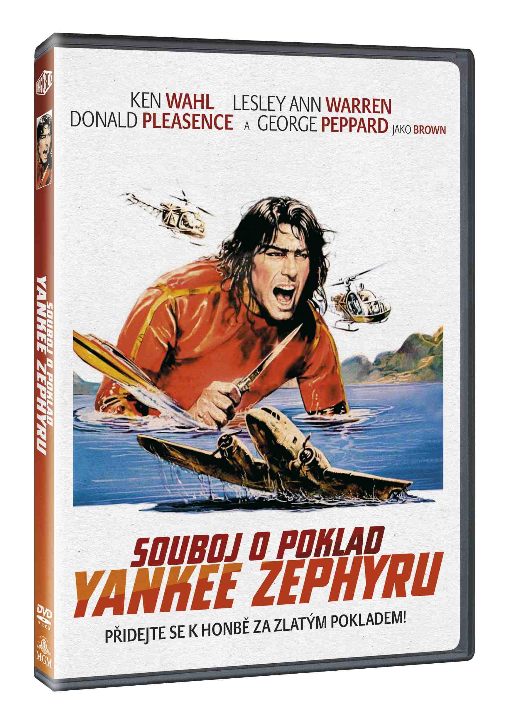 SOUBOJ O POKLAD YANKEE ZEPHYRU - DVD