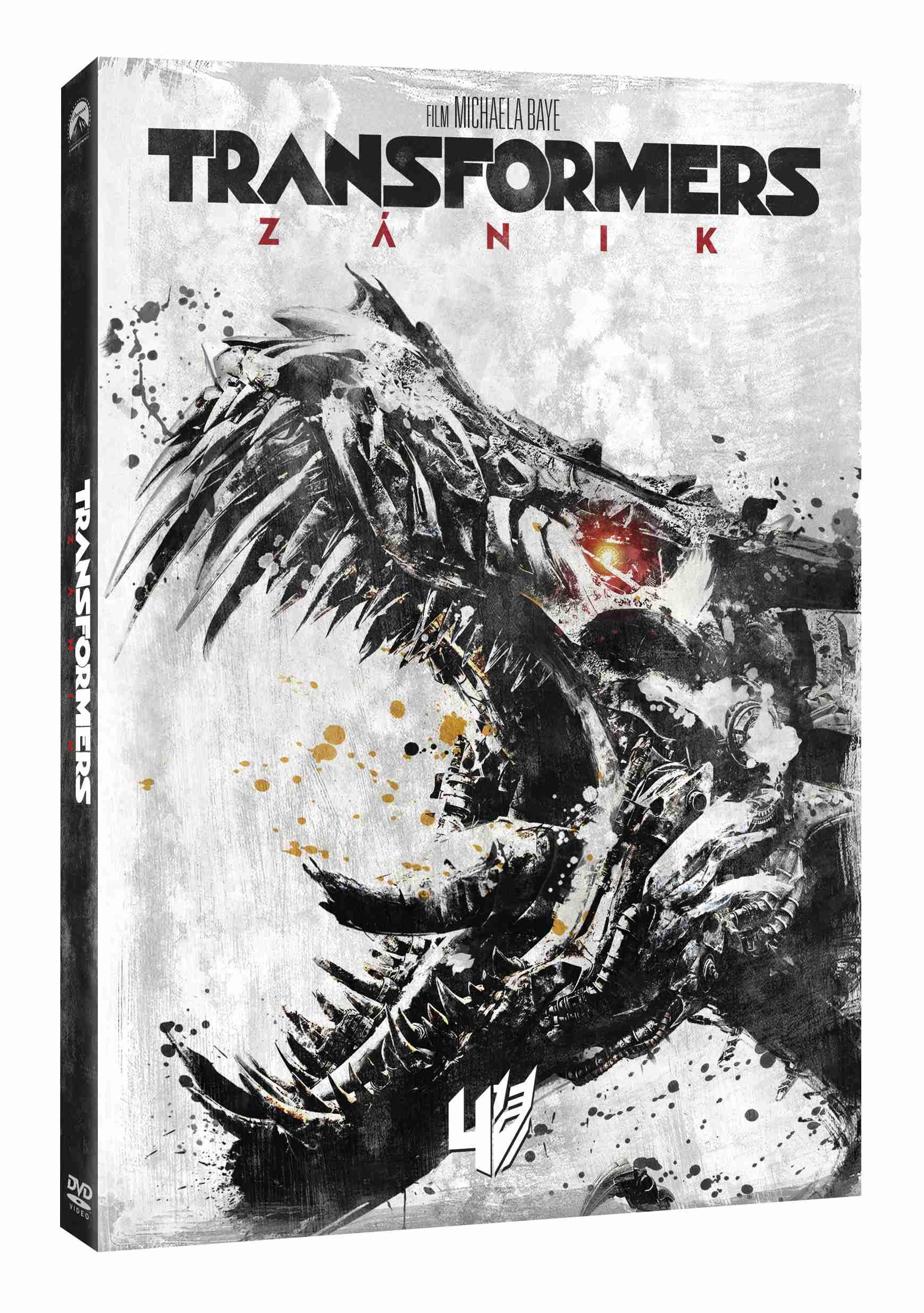 TRANSFORMERS: ZÁNIK (Edice 10 let) - DVD