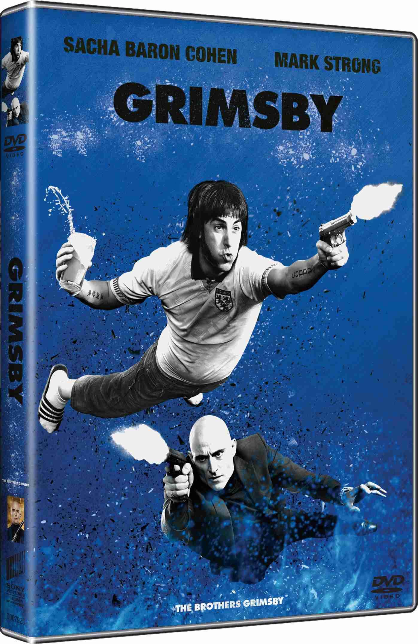 GRIMSBY (Big Face) - DVD