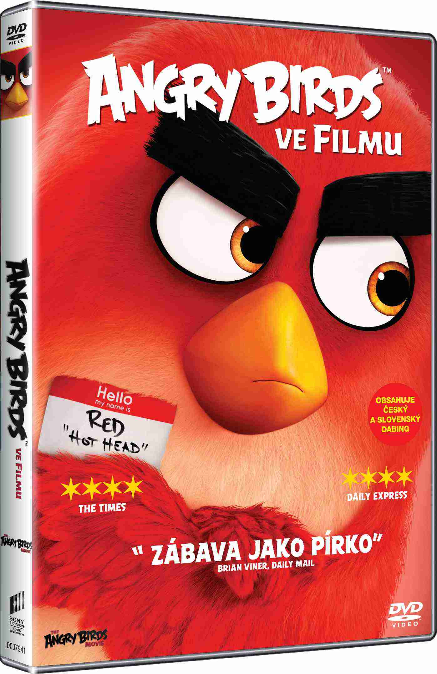 ANGRY BIRDS VE FILMU (Big Face) - DVD