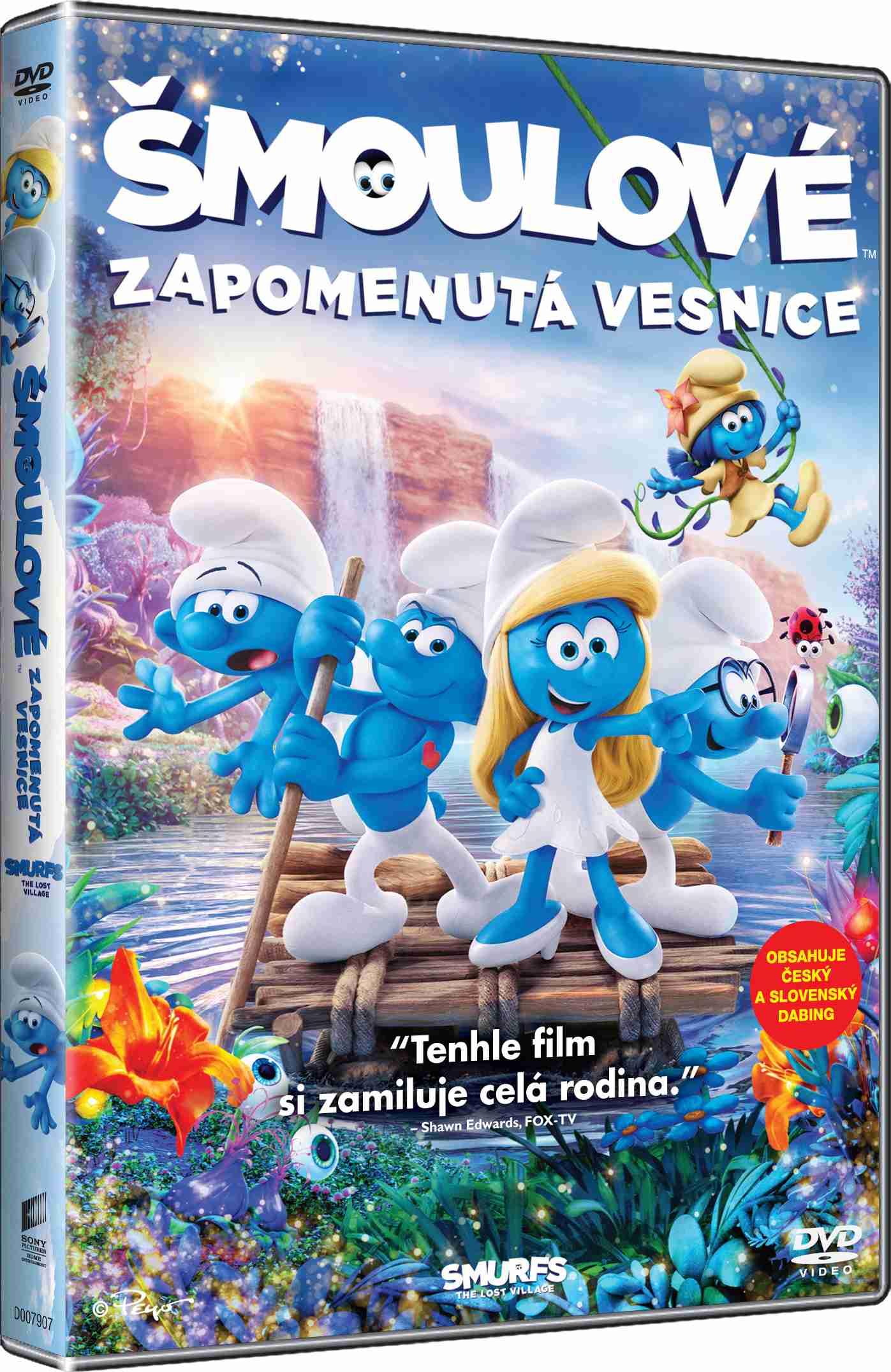 ŠMOULOVÉ: ZAPOMENUTÁ VESNICE - DVD