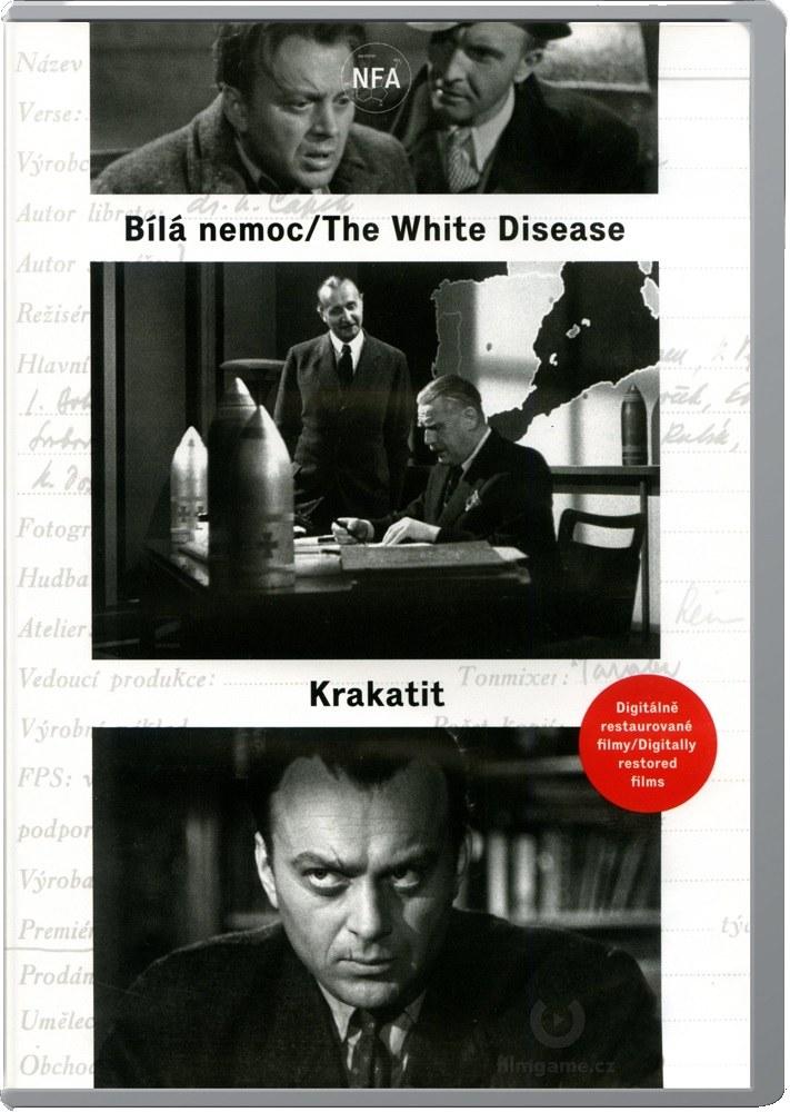 Bílá nemoc / Krakatit (Digitálně restaurované filmy) - 2 DVD