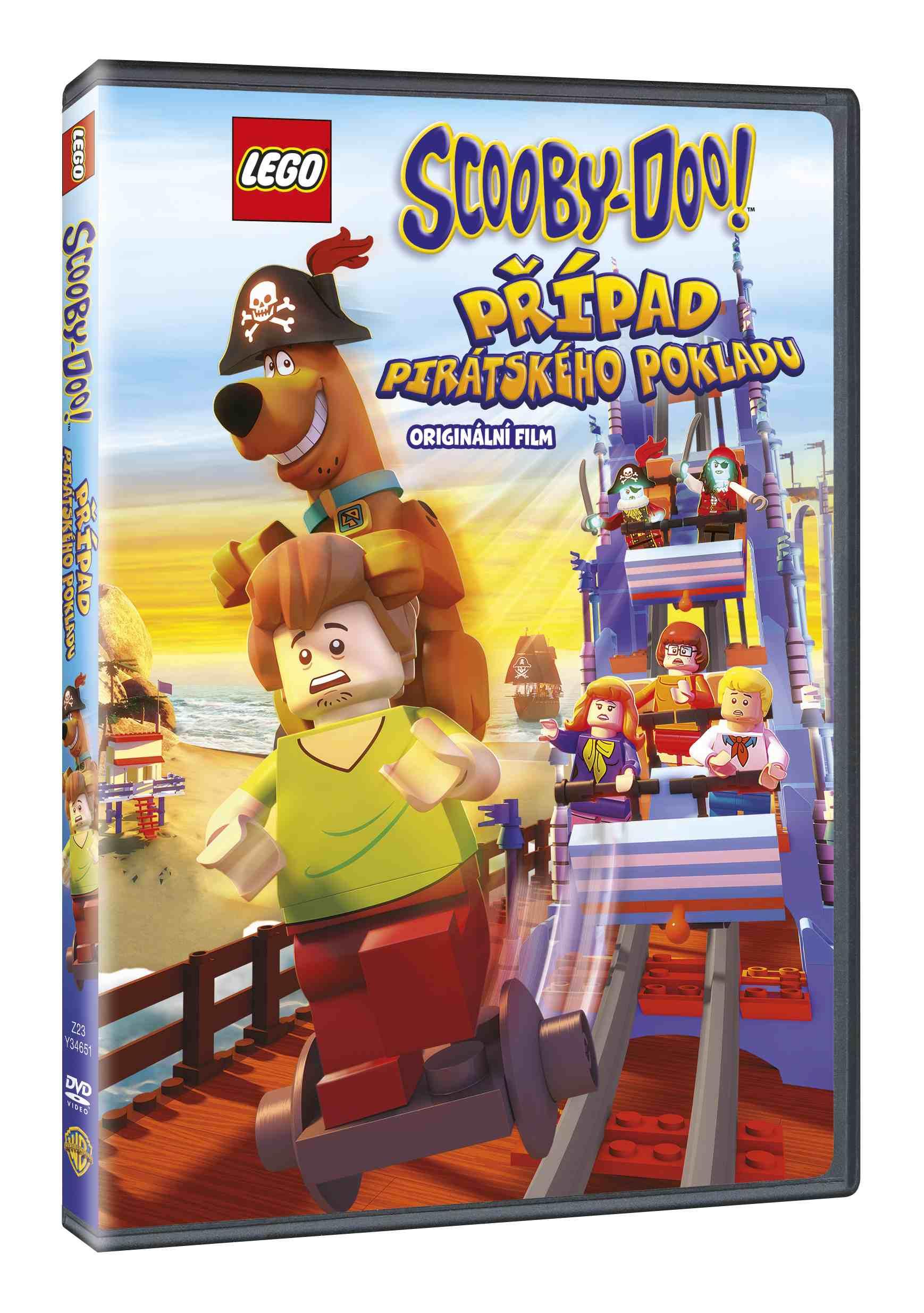 Lego Scooby-Doo! Případ pirátského pokladu - DVD