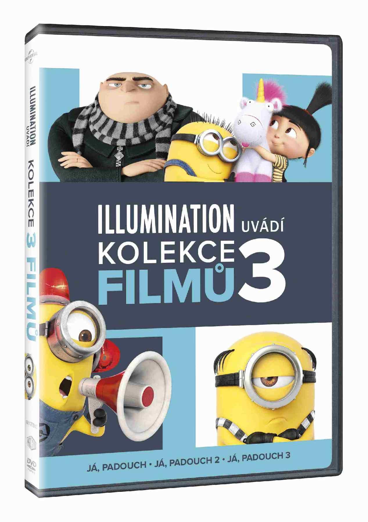 JÁ, PADOUCH 1-3 KOLEKCE - 3 DVD
