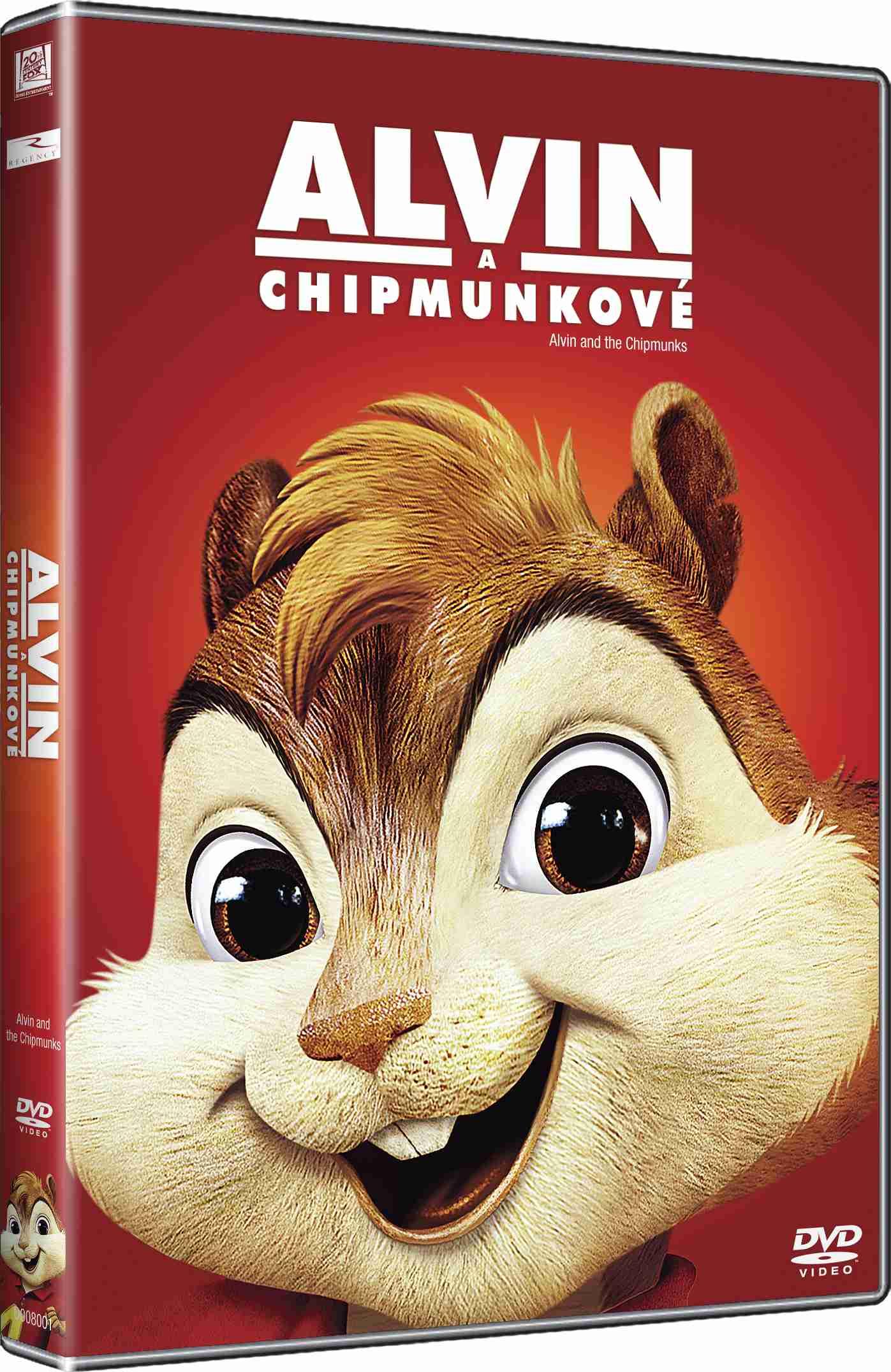 ALVIN A CHIPMUNKOVÉ (Big Face) - DVD