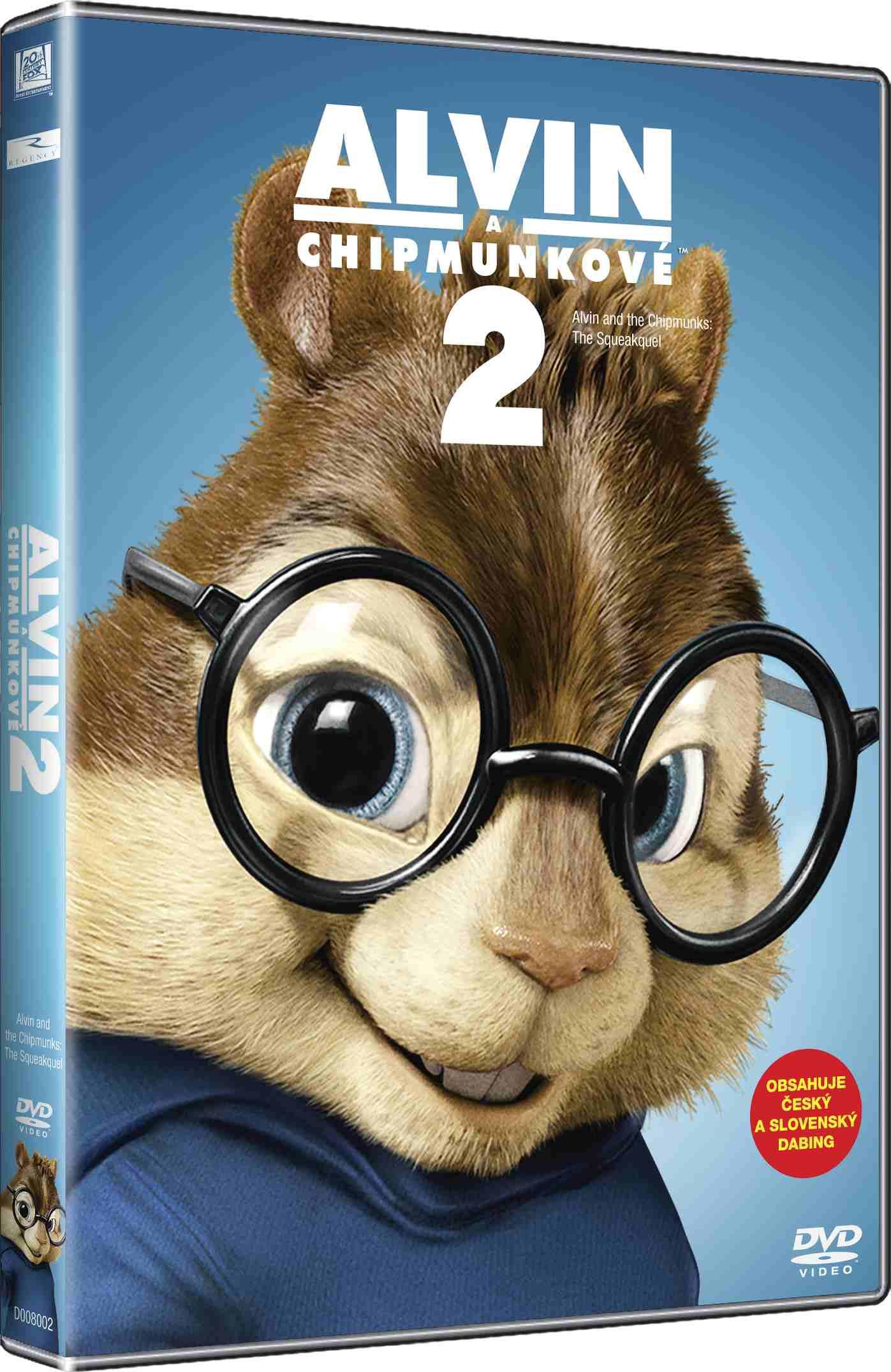 ALVIN A CHIPMUNKOVÉ 2 (Big Face) - DVD