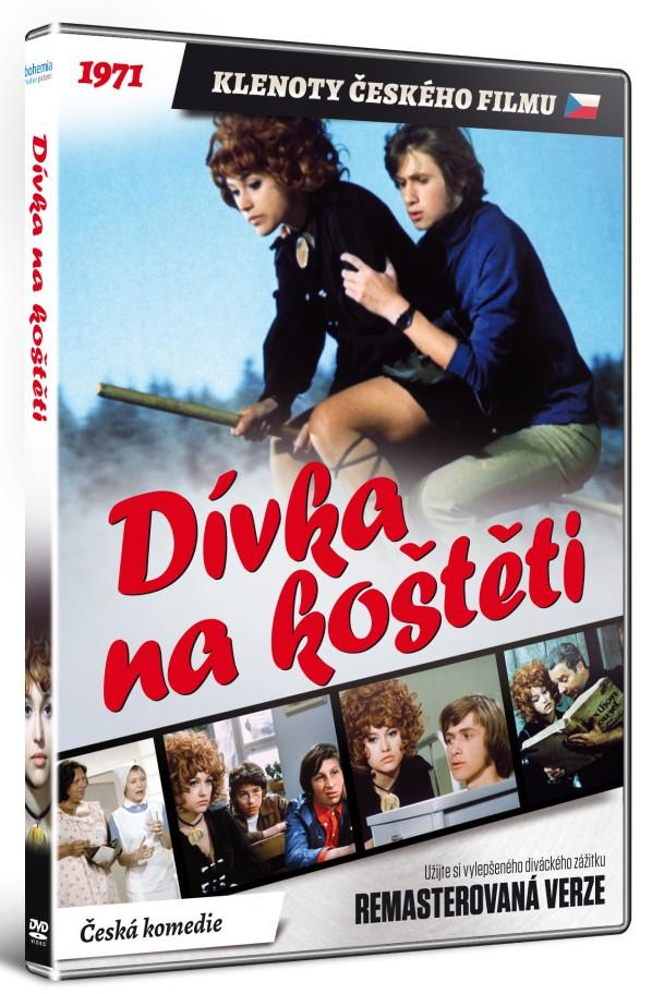 Dívka na koštěti (Remasterovaná verze) - DVD