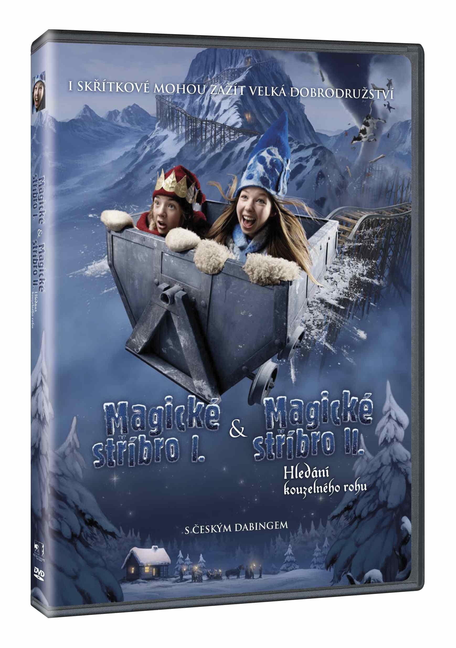 Magické stříbro 1 + 2 - DVD
