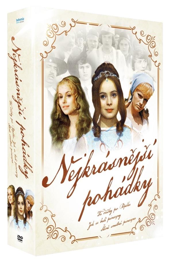 Nejkrásnější pohádky - kolekce - 3 DVD