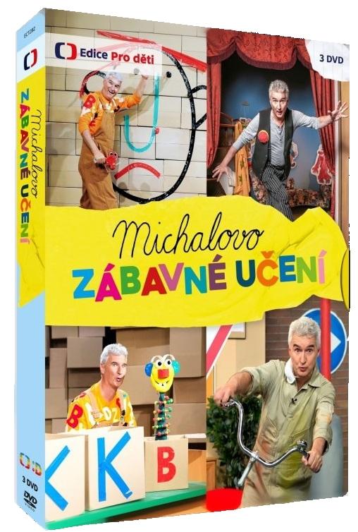 Michalovo zábavné učení - DVD (3 DVD)