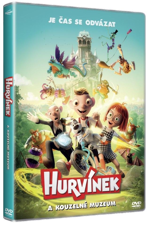 Hurvínek a kouzelné muzeum - DVD
