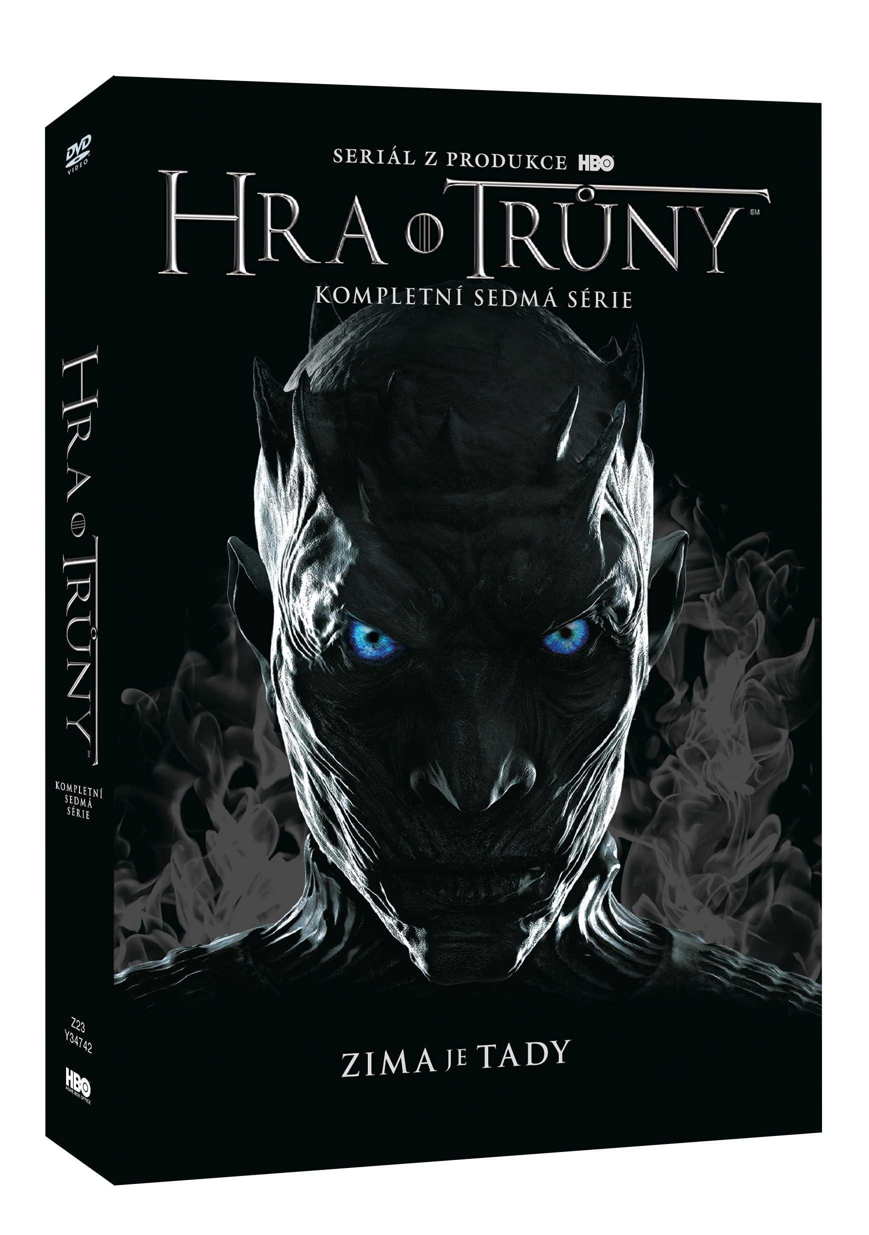 Hra o trůny - 7. série (4 DVD) - DVD Viva balení