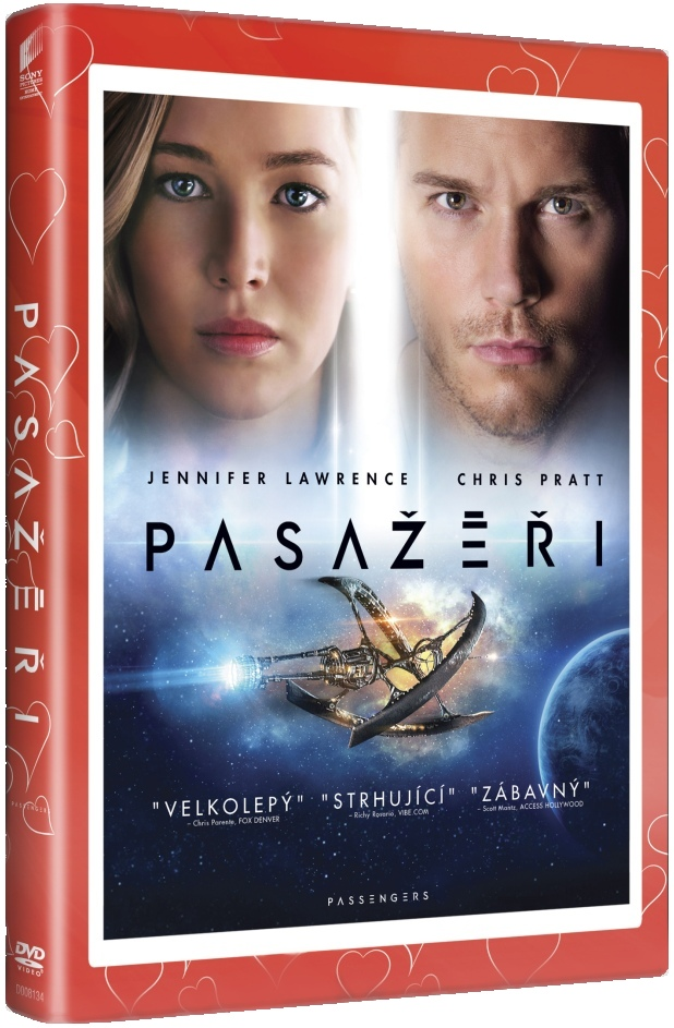 Pasažéři (edice Valentýn) - DVD