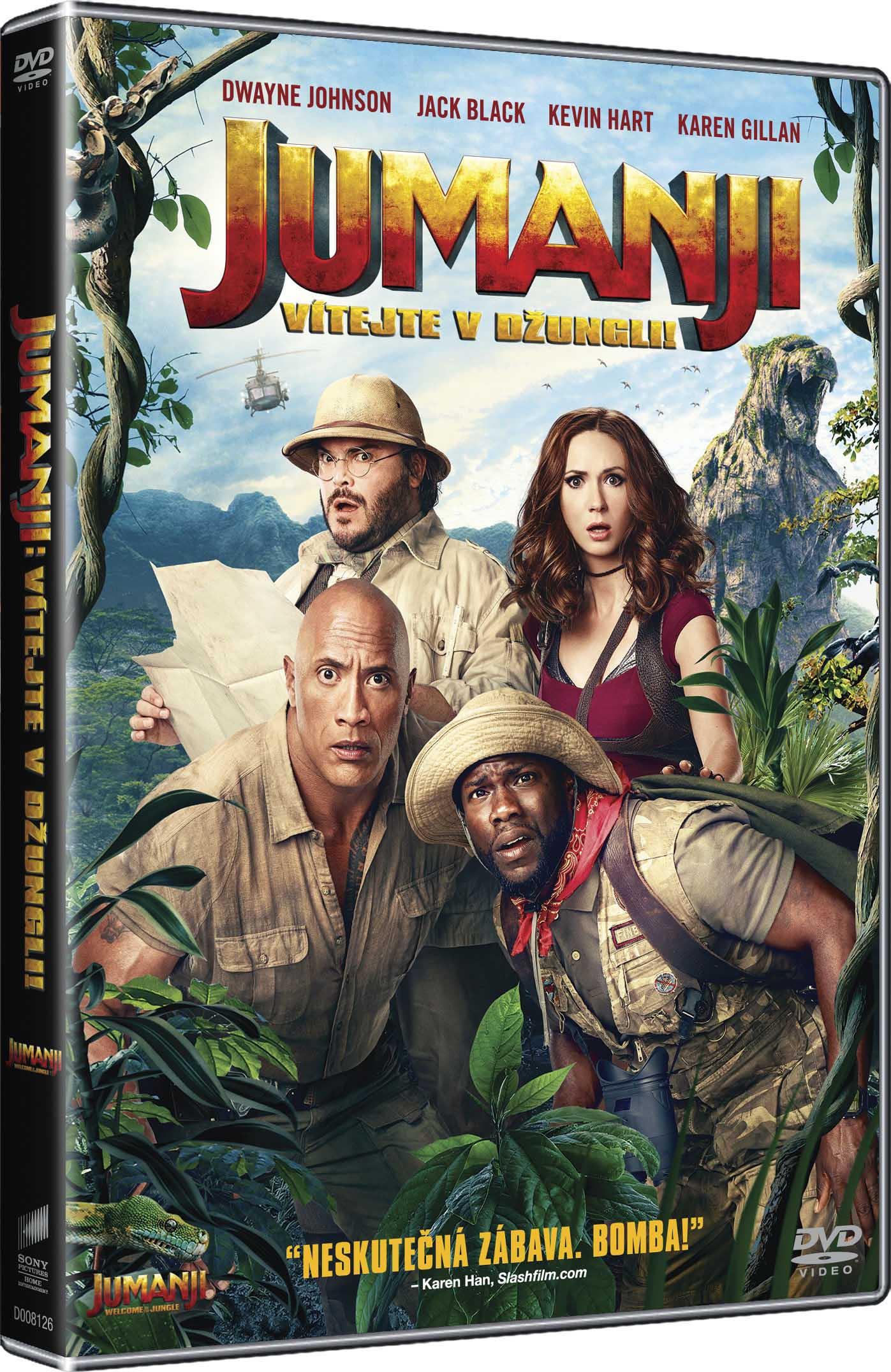 Jumanji: Vítejte v džungli! - DVD