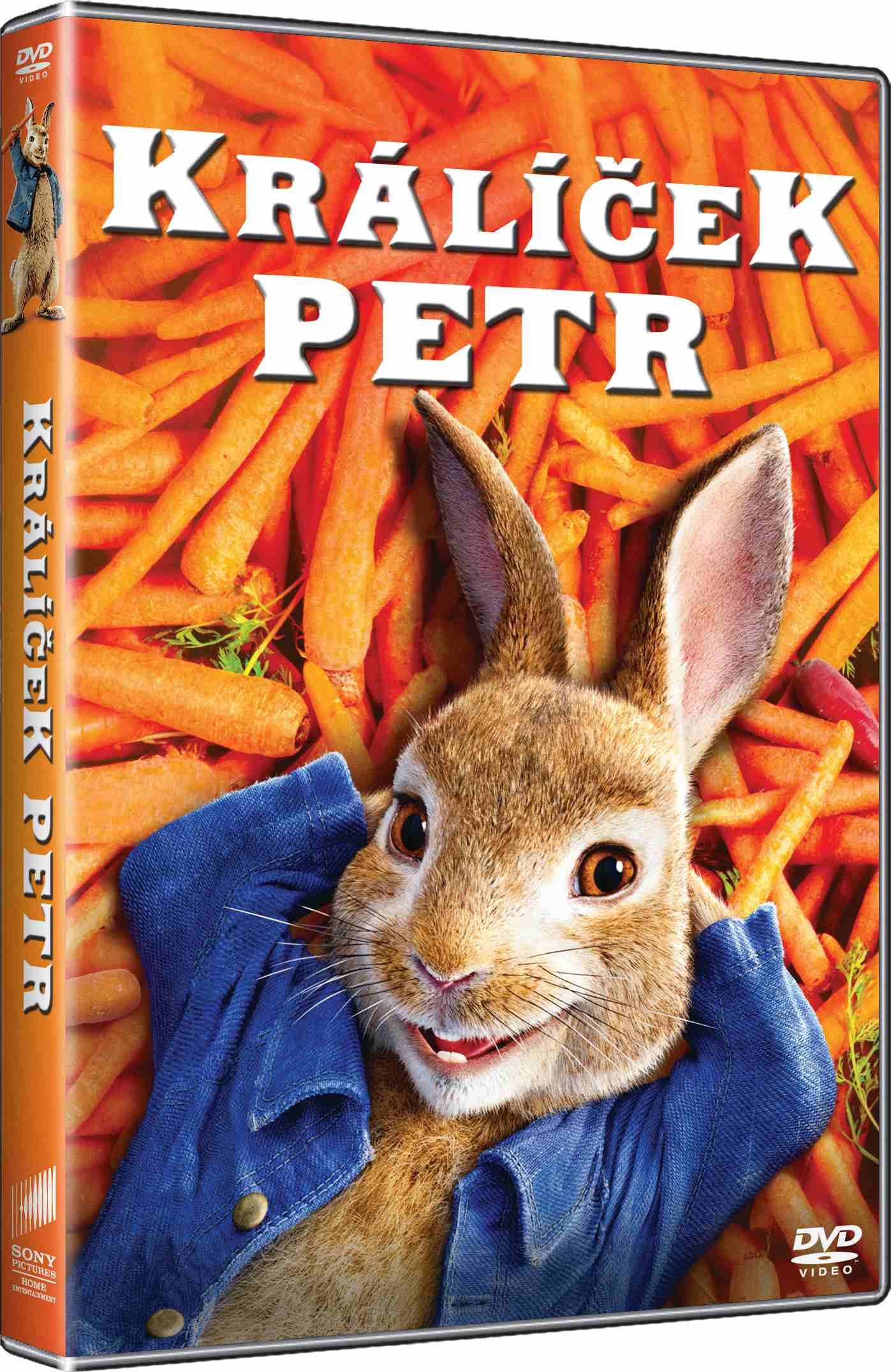 Králíček Petr - DVD