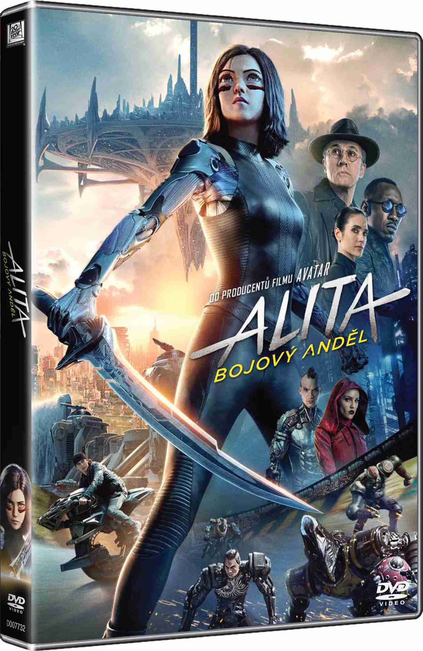 Alita: Bojový Anděl - DVD