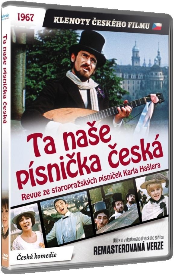 Ta naše písnička česká (Remasterovaná verze) - DVD