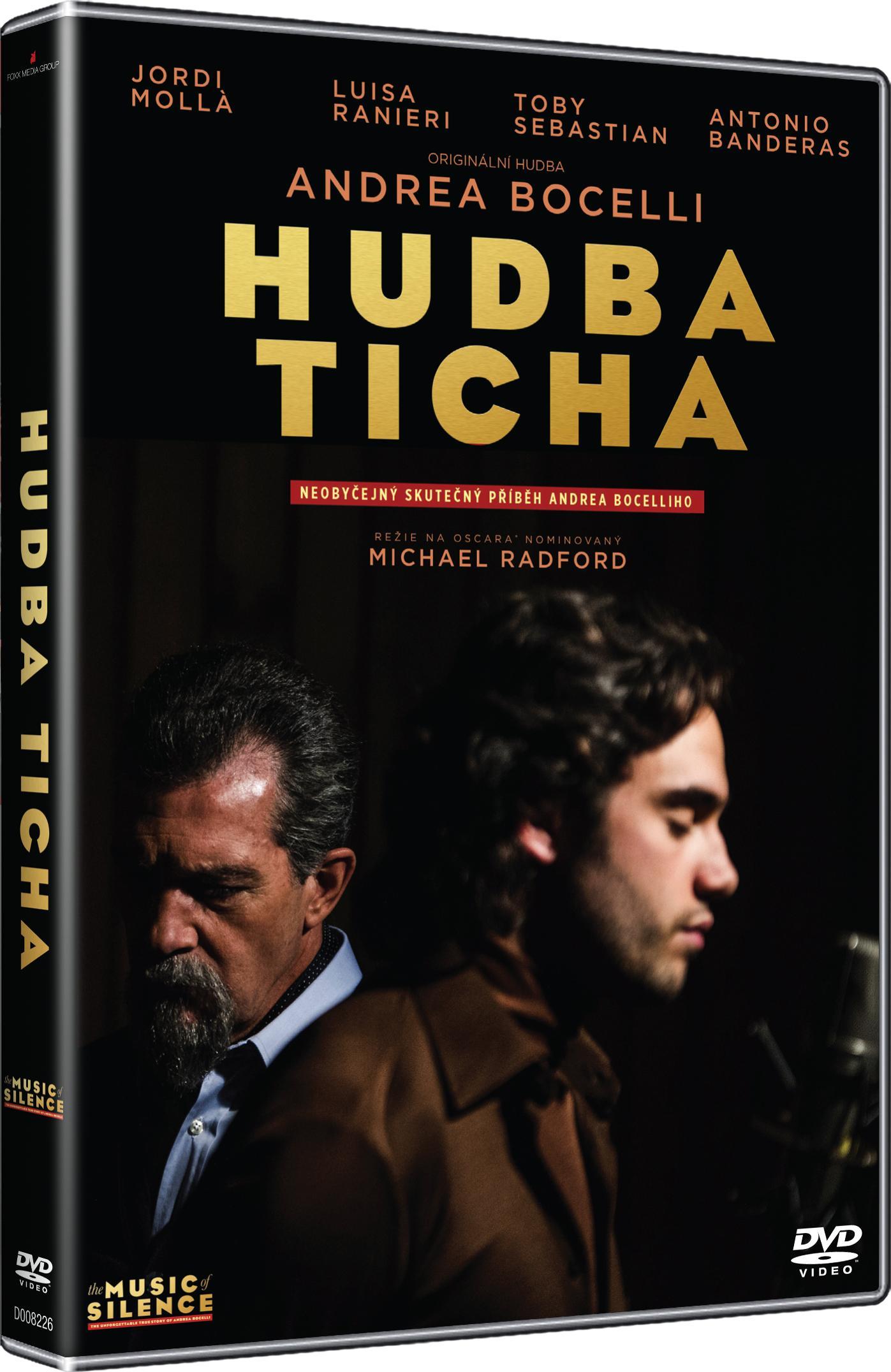 Hudba ticha: Neobyčejný skutečný příběh Andrea Bocelliho - DVD