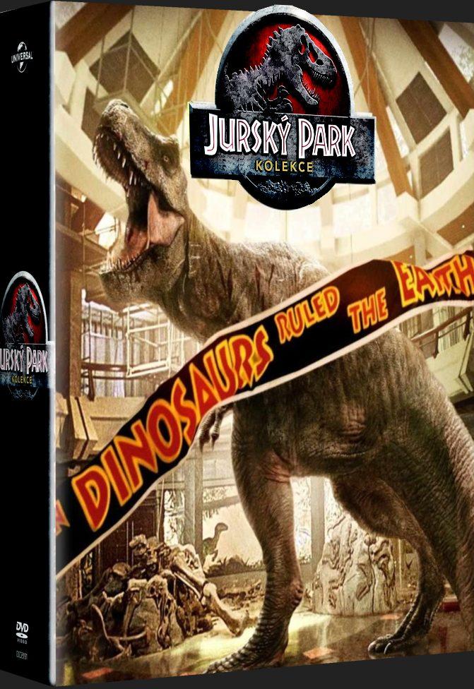 Jurský park kolekce 1-4 (25. výročí) - DVD