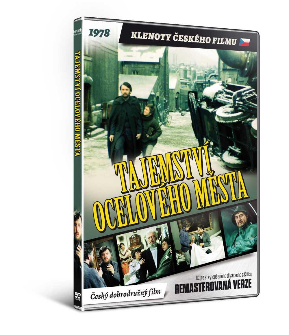 Tajemství Ocelového města (remasterovaná verze) - DVD