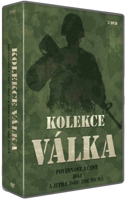 Válečné filmy (Povinnost a čest, Boj, A jitra jsou zde tichá) - 3 DVD